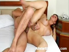 Busty Barbara Does Anal in Bed