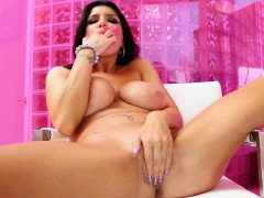 Romi Plays With Her Pussy