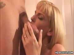 Hot blonde milf Darryl Hanah insane anal sex