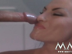 Stunning German babe enjoys getting anal fucked