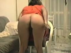 Mature Woman Teasing Her Ass