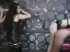Dominatrix And Her Two Slaves