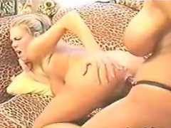 Lesbians Having Fun With A Strapon