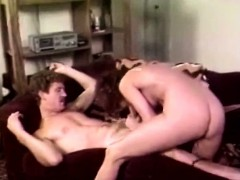 Hot couple of 1980 porn