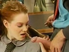 Hairy Redhead Chick Fucking Classic